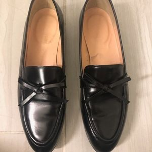 J.Crew Loafers Black *like new* Size 6 1/2